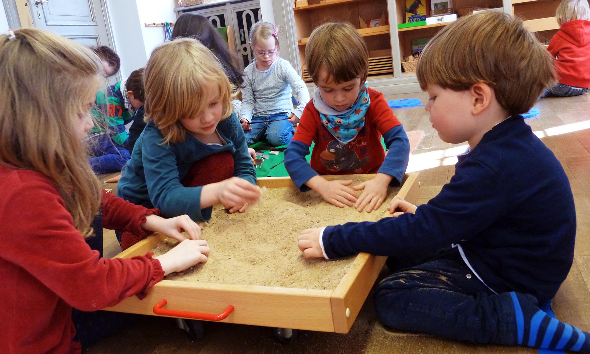 Soziales Lernen - Montessori integrativer Kindergarten, Beethovenstrasse, 79100 Freiburg