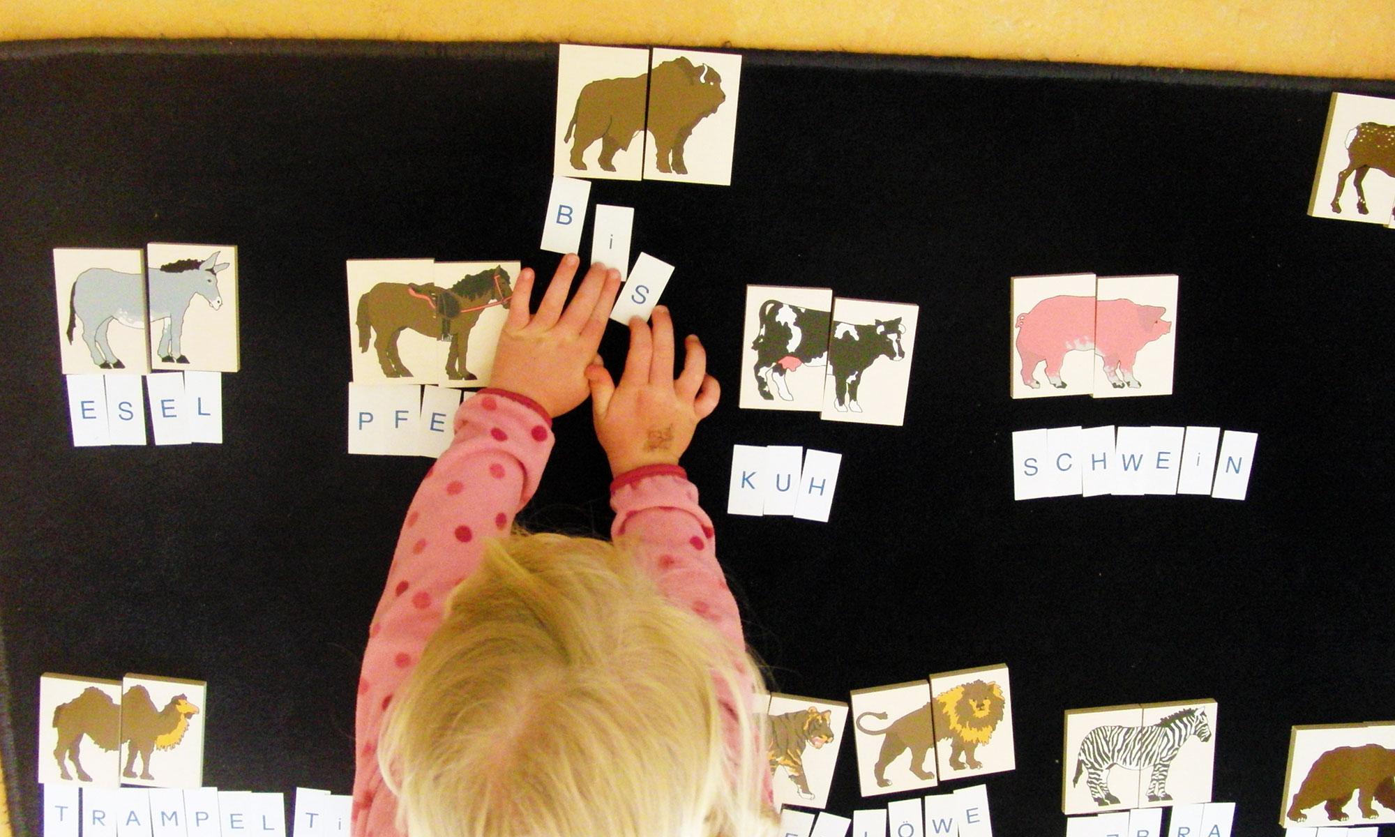 Sprache - Montessori Kindergarten, Beethovenstrasse, 79100 Freiburg